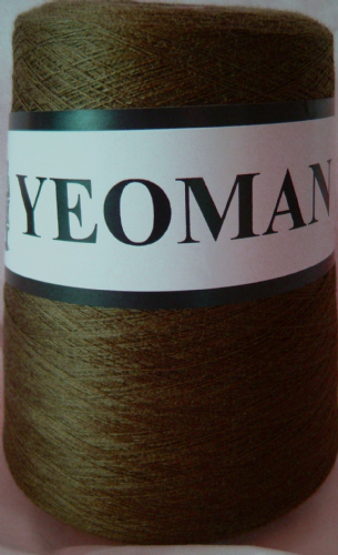 Yeoman Supersheen Acrylic Yarn Knitting Machine Khaki